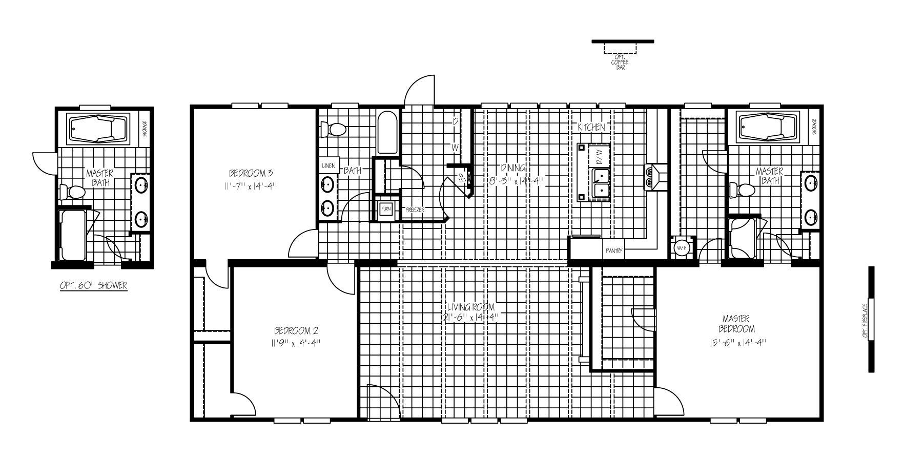 The Jefferson Floorplan