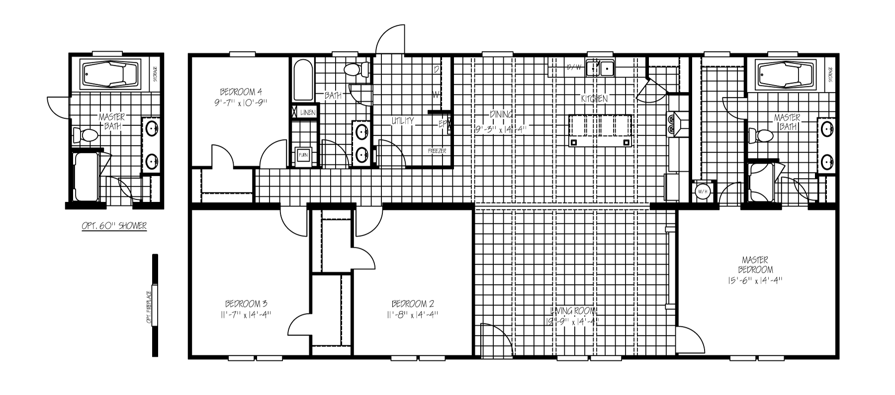 The Kennedy Floorplan